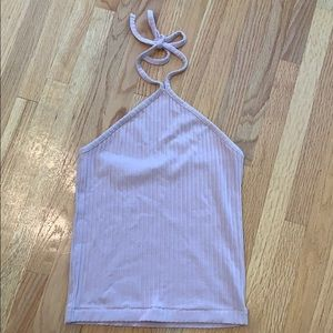 Pacsun Ribbed Tie Top ☆